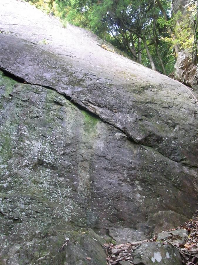氷川屏風岩