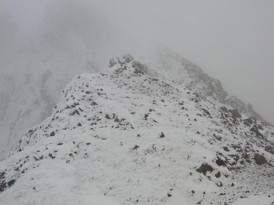 冬季権現岳