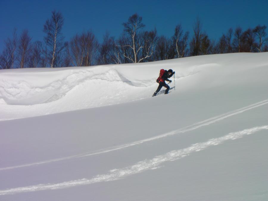 厳冬期四阿山