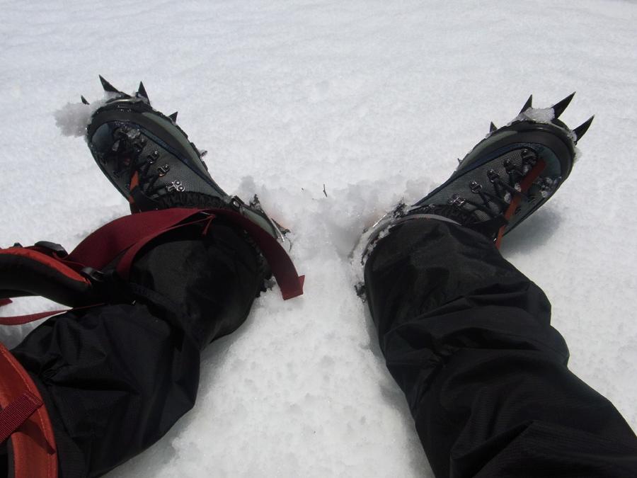 残雪期北岳