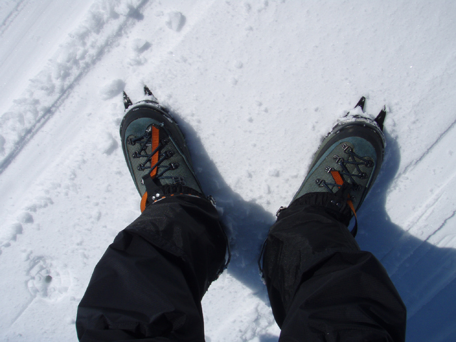 残雪期燧ヶ岳