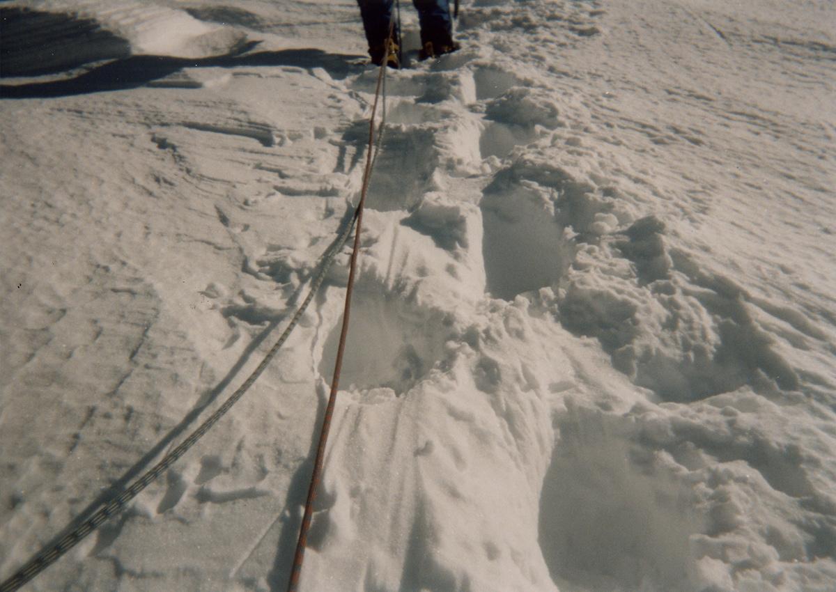 冬季八ヶ岳赤岳西壁主稜