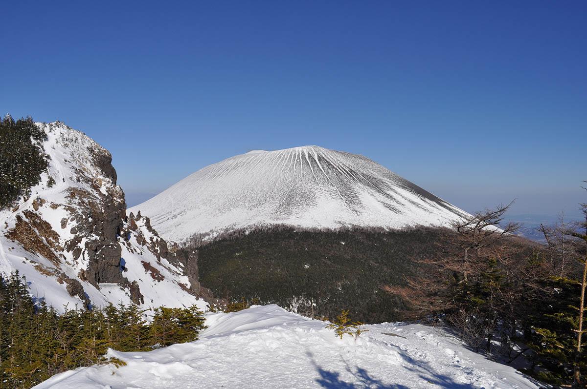 冬季浅間山