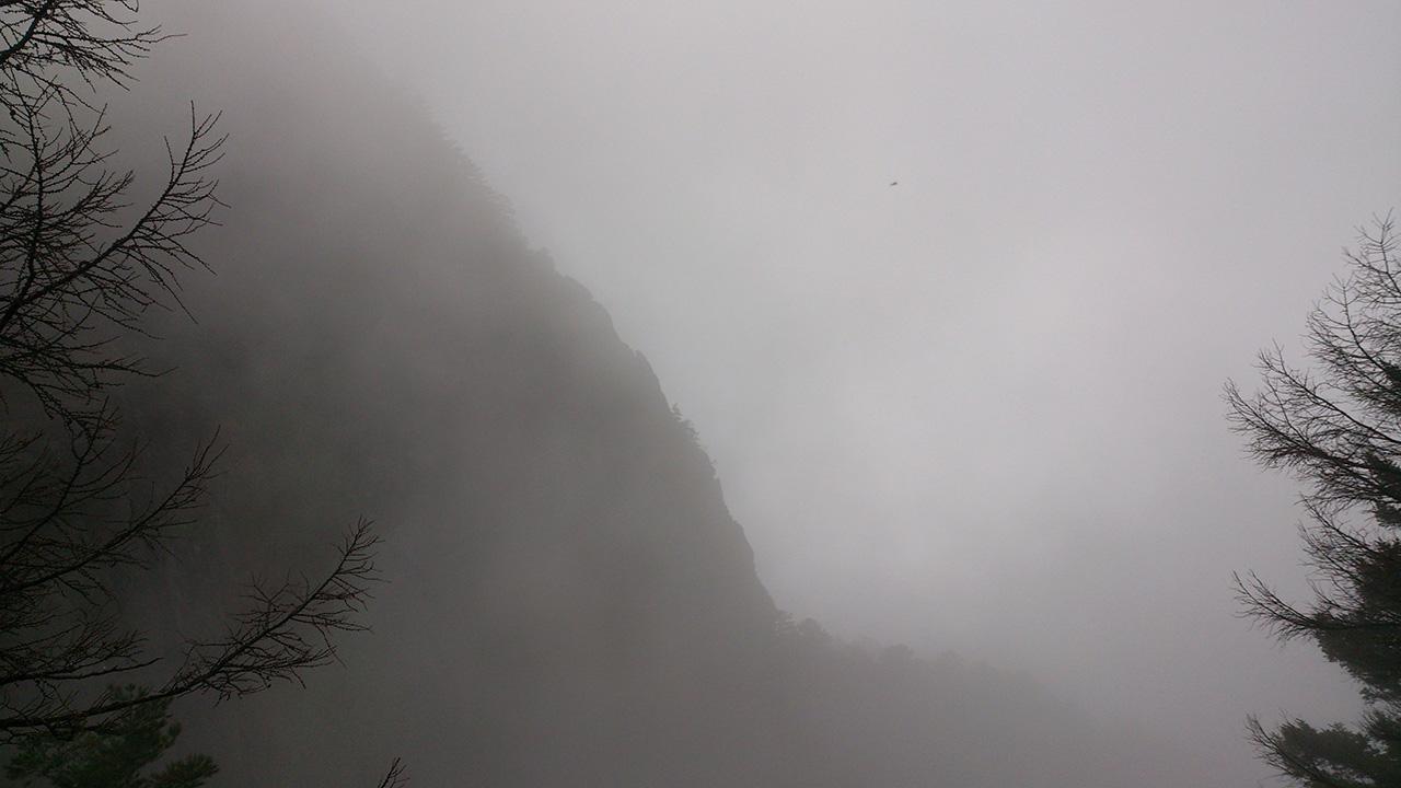 三ツ峠中央カンテ